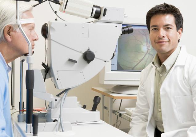 Fluoresceínová angiografia - prístroj